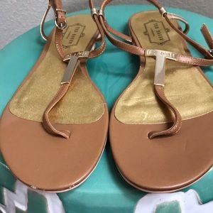 Ted Baker Iconic Sandal! Never worn outside! NWOT!